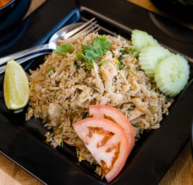an image of our thai fried rice