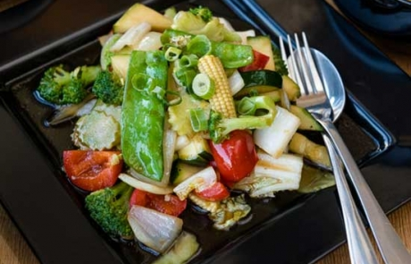 an image of our pad pak, a veggie stir fry