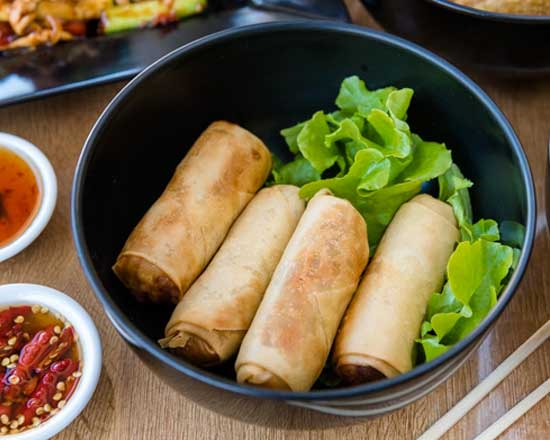 an image of our spring rolls