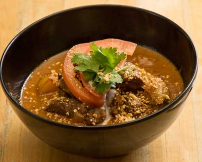 an image of our massaman beef curry