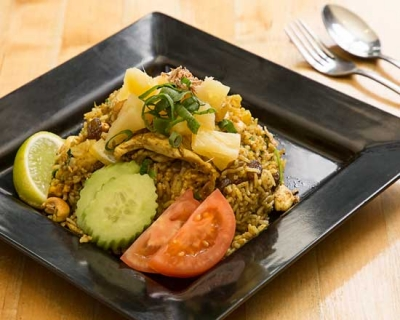 an image of our pineapple fried rice