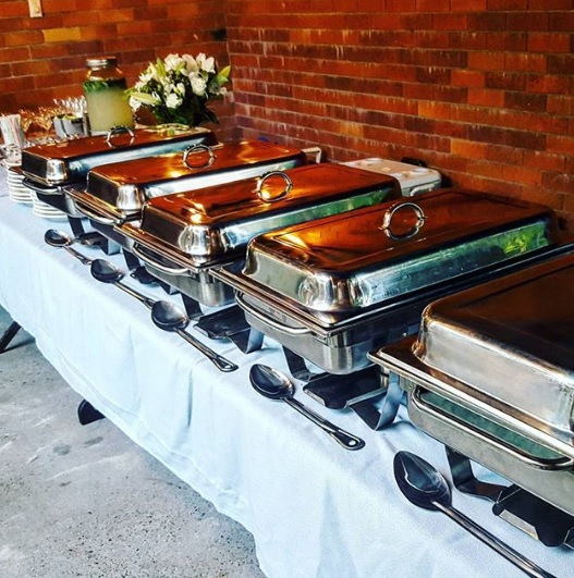 an image of catering we did for a wedding anniversary