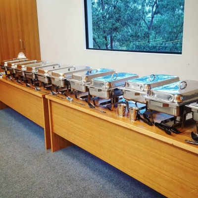 image of the catering we provided to griffith uni